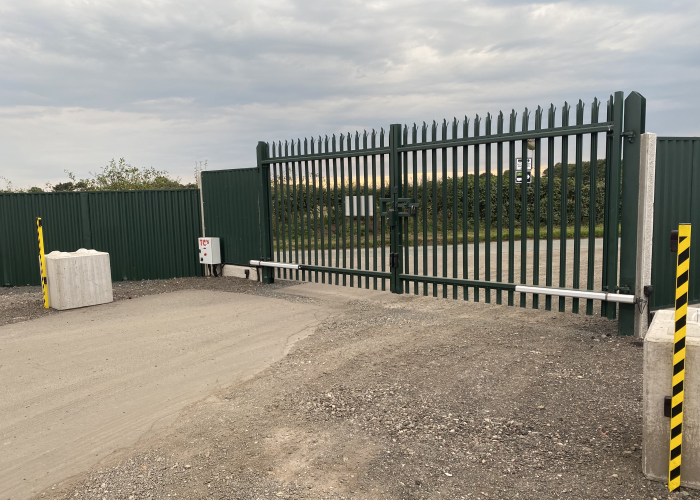 Industrial Electric Gates